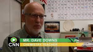scvtv com high chemistry teacher dave downs says