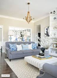 blue and white family room house beautiful pinterest the best of 25 beautiful living rooms ideas on pinterest family room