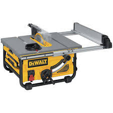 Best Contractor Table Saw by Dewalt Table Saws Ebay