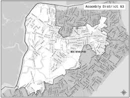 Staten Island Map Staten Island U0027s Assembly Districts Are Fine Tuned Silive Com