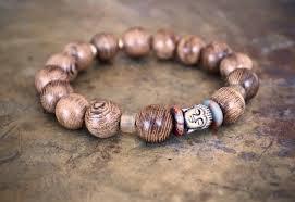 elastic bead bracelet images Wrist mala buddha bracelet bead bracelet buddhist men 39 s jpg