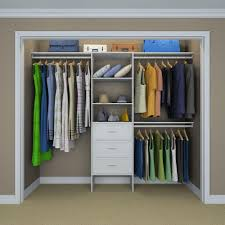 selectives 83 in h x 120 in w x 14 57 in d basic plus closet