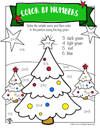 free printable christmas math worksheets pre k 1st grade u0026 2nd