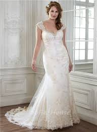 Vintage Ball Gown Strapless Tulle Wedding Dress With Detachable Stunning Mermaid Sweetheart Vintage Lace Wedding Dress With
