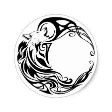 21 best wolf and crescent moon tattoo images on pinterest
