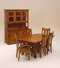 Shaker Dining Room Chairs Amish Dining Room Furniture Amish Table And Chairs Appleton