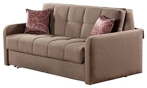 beyan madrid collection queen size convertible sofa sleeper with