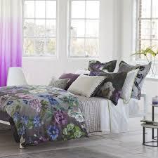 alexandria amethyst bedding by designers guild bedside manor ltd