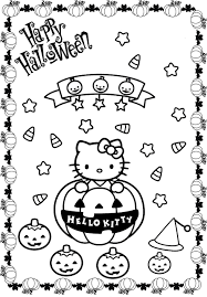 Barbie Halloween Coloring Pages Halloween Coloring Pages Cat And Pumpkin Hallowen Coloring Pages