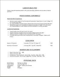 Example Of A College Resume by Example Of Resume For College Student College Student Resume