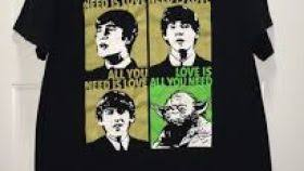 Beatles Yoda Meme - all you need is love shirt yoda enam t shirt