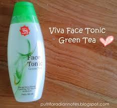 Toner Viva topic review 13 viva tonic green tea catatan miss