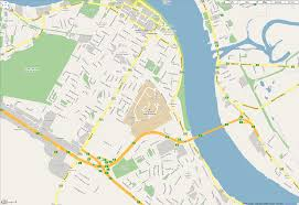 Moncton Canada Map by Travel Information Unb