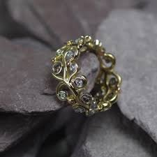 bespoke gold jewellery handmade bespoke eternity rings dot the jewellers