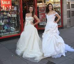 wedding dress donation high end fashion boutique donates 6k wedding dresses to charity