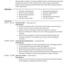 Executive Housekeeper Resume Housekeeper Resume Sles 28 Images Professional Housekeeper