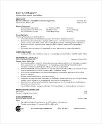 Environmental Engineer Resume Sample by 54 Engineering Resume Templates Free U0026 Premium Templates