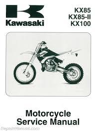 2001 2011 kawasaki kx85 kx100 motorcycle service manual