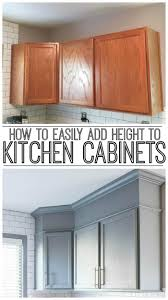 Add Trim To Kitchen Cabinets by 1000 Best Images About Home On Pinterest How To Paint Paint