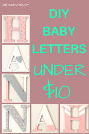 how to make letters craft tutorials and inspiration categorized