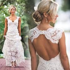 aliexpress com buy cheap vintage long sheath lace wedding