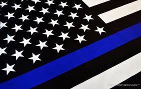 Blue White And Black Flag No Such Thing As A Good Cop