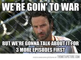 Rick Grimes Crying Meme - the walking dead lately the meta picture