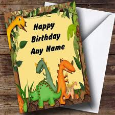 Jungle Birthday Card The Jungle Book Personalised Birthday Card The Card Zoo