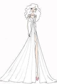 savannah guthrie u0027s wedding dress designer sketches wedding