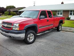 Red Lifted Chevy Silverado Truck - red truck the bangshift com forums
