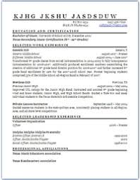 Examples Of Resume For Teachers by The Total Resume Makeover For Teachers Teachingcom