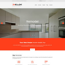 Home Renovation Websites Interior Design Templates Templatemonster