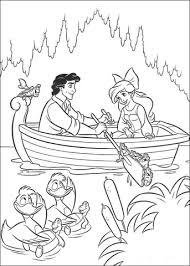 The Prince Eric And Ariel Coloring Page Free Printable Coloring Ariel Color Page