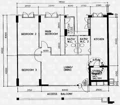 floor plans for rivervale drive hdb details srx property