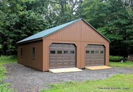 2 car garages thee amish structures