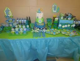 monsters inc baby shower decorations monsters baby shower theme search baby