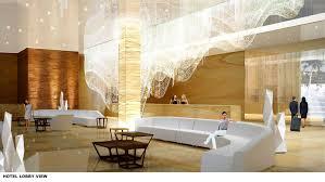 Modern Lobby by Hotel Lobby Design Foucaultdesign Com