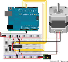 arduino stepperonerevolution