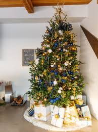 christmas christmas trees decorated with burlap best pictures in
