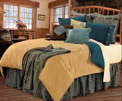 Teal King Size Comforter Sets Bedroom Luxury Pattern Bedding Design With Western Comforters