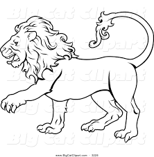 royalty free stock big cat designs of color pages