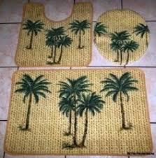 Palm Tree Runner Rug Banana Leaf Palm Tree Wall Shelf Tropical Island Decor Right
