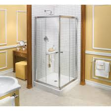 38 Shower Door Discobath Maax Centric Square 1 4 Corner 38 X 70 Sliding