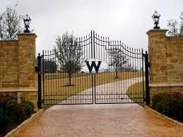 custom ornamental iron gates fence co