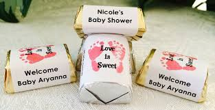 amazon com 210 footprints baby shower hershey nugget candy