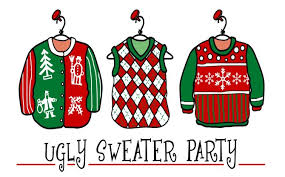 Images Of Ugly Christmas Sweater Parties - ugly christmas sweater party u2013 welcome to bedrock roanoke