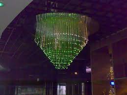 fiber optic lamp customized 50w high power fiber optic chandelier