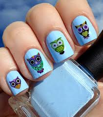 sugar skull owl nail decals 2 u2013 moon sugar decals
