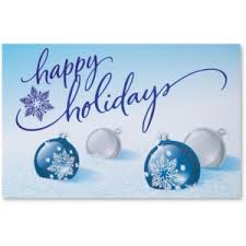 Holiday Business Cards Business Holiday Greeting Cards For Clients Paperdirect Blog