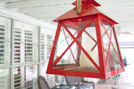 Red Light Fixture by Outdoor Lantern Light Fixture U2013 The Blissful Bee